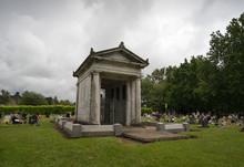 Wilford Hill Cemetery Mausoleum Monument, Nottingham, UK