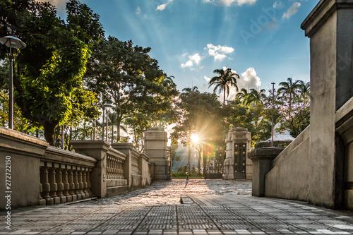 Pôr do sol em Belo Horizonte, Brasil Slika na platnu