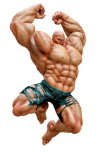 Super Muscleman Will Smash You...