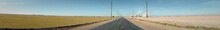 The Open Roads Of Imperial County In California.