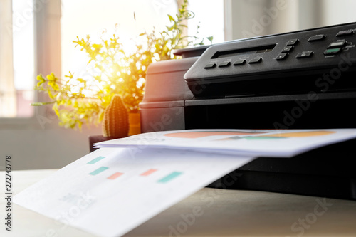 Fotografía The printer is fully functional,Located on the desk.