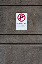 No Parking - Violators Will Be...
