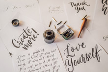 Lettering, Calligraphy, Writes...