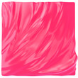 canvas print picture Red-pink soft folds, elegant liquid material backdrop, glossy wavy fabric fashion background. Magenta color fluid abstract texture. 3d illustration.