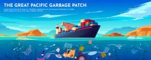 Pacific Ocean Plastic Garbage ...