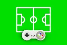 Video Game Console GamePad. Ga...