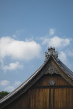 Quiet Temple And Blue Sky And ...