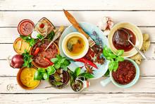 Food Still Life Of Summer Mari...