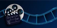 Cinema Film Strip Wave, Film R...
