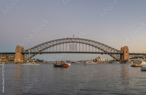 Staande foto Sydney harbour bridge Sydney
