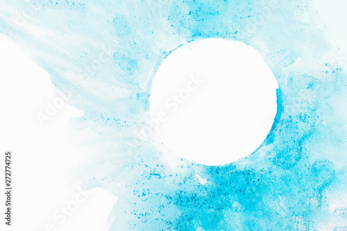 Photo Stands Painterly Inspiration Watercolor abstract circles background