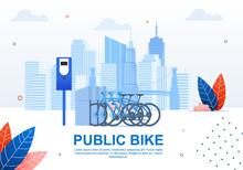 Creative Urban Transportation, Public Bike Banner.