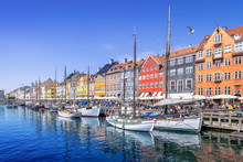 Panoramic View At Nyhavn In Co...