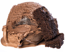 Single Scoop Of Chocolate - Br...