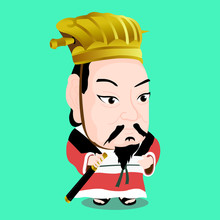 Cute Character Of Cao Cao