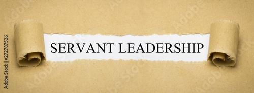 Fototapeta Servant Leadership obraz