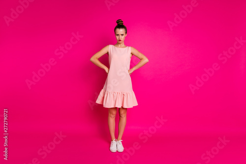 Valokuva  Full length body size view of her she nice charming attractive glamorous moody s