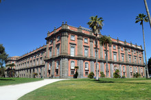 Royal Palace Museum Capodimonte In Naples.