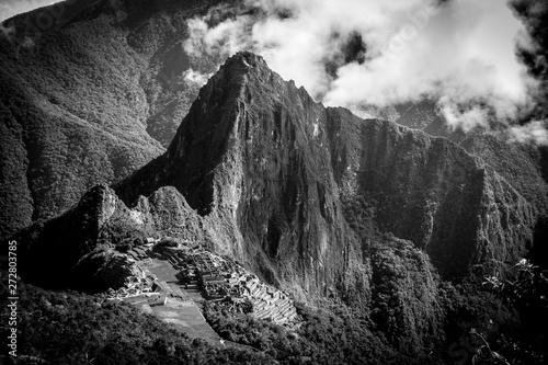 The mystical place of Machu Picchu Canvas Print