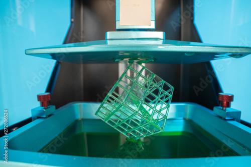 Fototapeta  Stereolithography photopolymer  DPL 3d printer