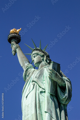 Fotografie, Tablou Close up of the statue of liberty, New York City