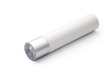 Mini LED Flashlight Isolated On White Background