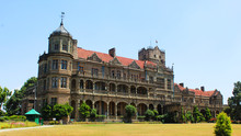 A Picture Of Viceregal Lodge Or Indian Institute Of Advance Studies In Shimla
