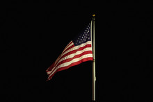 American Flag Flapping And Fly...