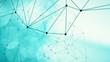 Random dots digital data science background