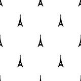 Wzór z wieży Eiffla ikona na białym tle. Wektorowa ilustracja dla projekta, sieć, papier do pakowania, tkanina, tapeta. - 272829138