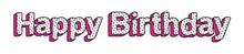 Happy Birthday Bright Inscript...