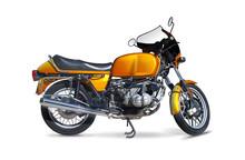Classic German Motorcycle Side...