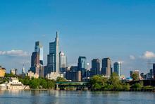 PHILADELPHIA Skyline On Schuyl...