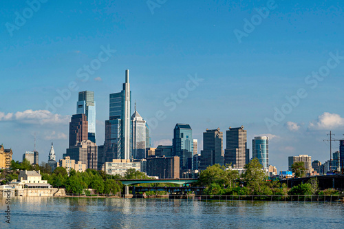Photo PHILADELPHIA skyline on schuylkill river
