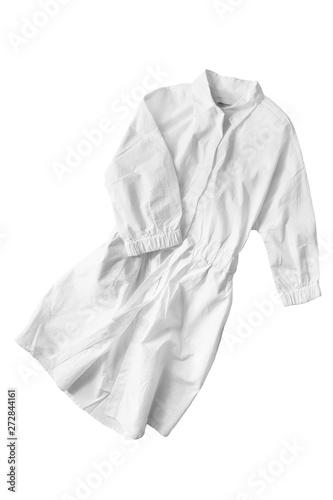 Fototapeten womenART Crumpled dress isolated