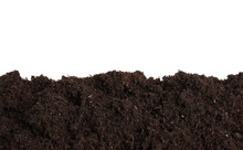 Layer Of Fresh Soil Isolated O...