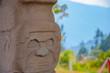 Statuen im Archäologischen Park von San Augustin Kolumbien Südamerika