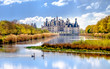 The famous Chambord Castle located in the Loire Valley, France