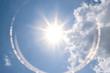 Leinwandbild Motiv Clear sky During midday