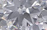 Fototapeta Kamienie - Seamless diamond pattern -  illustration of crystallic background