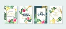 Summer Card Design. Save The D...