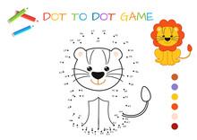 Funny Little Lion Cub. Copy Th...