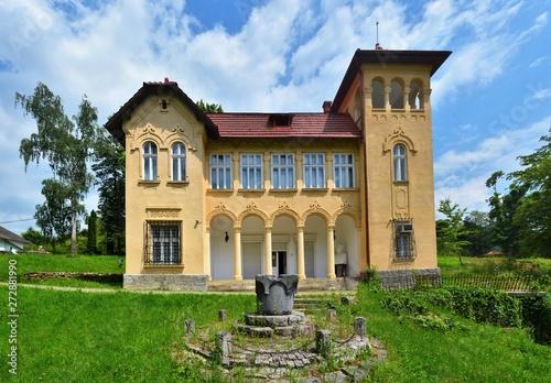 Octavian Goga Memorial Museum in Ciucea Cluj County - Romania 08 Canvas-taulu