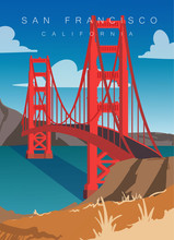 San Francisco Modern Vector Il...