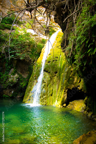 Beautiful waterfalls in wonderful Algeria