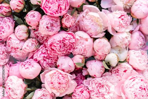 Obraz na plátně Floral carpet or Wallpaper