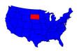 State of South Dakota Location