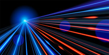 Vector Art Of Dynamic Light Mo...