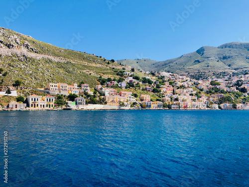 Fotobehang Mediterraans Europa Beautiful view of Symi island