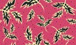 Leinwanddruck Bild - Indonesian Batik Bali Motif Style, Seamless Pattern